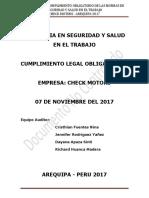 Informe de Auditoría - Check Motors