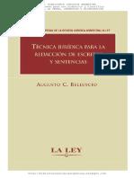 TÉCNICA JURÍDICA PAR LA REDACCIÓN DE ESCRITOS Y SENTENCIAS.pdf