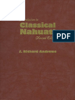 Introduction to Classical Nahuatl [J. Richard Andrews]