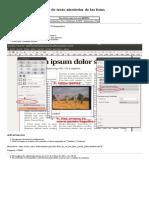 Cómo Establecer El Flujo de Texto Alrededor de Las Fotos - Scribus Wiki