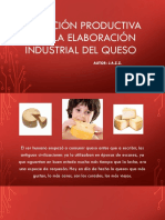 Operación Productiva Para La Elaboración Industrial Del Queso