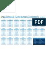 Calendario_SerieA2010_2011 GOLSUGOL