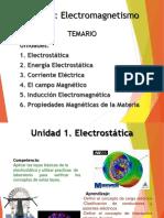 Electromagnetismo. Electroestática.