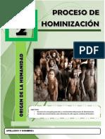 Folleto 2 Proceso de Hominizacion 2018 Resuelto
