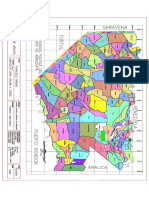 Mapa de Division Politica Arauquita