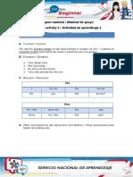 Desarrollo Materials AA2
