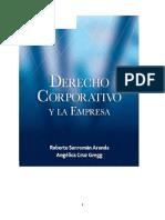 Derecho Corportaivo Sanroman r. Primera Parte