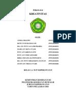 KREATIVITAS (Tugas Psikologi)