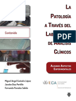 La Patologia a Traves Del Laboratorio de Analisis Clinicos