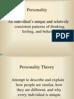 Psychoanalytic Theory - Freud