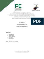 Informe 2 Sistema de Dirección Hidraúlica