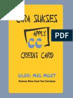 Cara Apply Kartu Kredit v.1