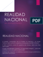 Realidad Nacional 2018