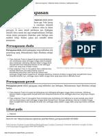 Sistem Pernapasan - Wikipedia Bahasa Indonesia, Ensiklopedia Bebas