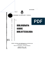 Bibliografia Sobre Bibliotecologia