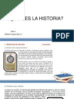 Introduccion a La Historia