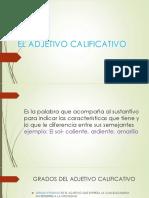 El Adjetivo Calificativo1