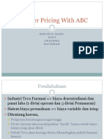Transfer Pricing With ABC