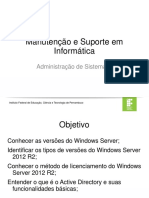 Aula 01 - Windows Server 2012 R2