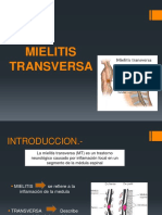 Mielitis Trans Versa