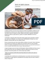 Benefícios e Perigos Da Dieta Dukan