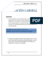 Legislación Laboral. Definiciones . Tema 1
