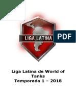 Libro de Reglas - Liga Latina