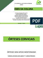 Orteses de Coluna