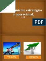 planeamiento estratégico y operacional