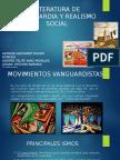 literatura de vanguardia y realismo social.pptx