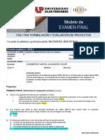 Modelo de Examen Final