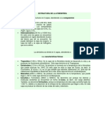 Estructura de La Atmósfera Investigacion Para El Portafolio de Geografia