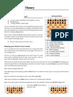 Chess Opening Theory