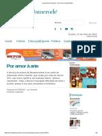 Jornal de Pomerode Por Amor a Arte 62594