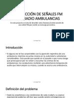 Intersección de Señales Fm Para Radio Ambulancias