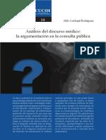 14- Análisis Del Discurso Médico, La Argumentación en La Consulta Pública