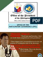 Kilusang Pagbabago Orientation (Pilipino)