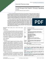 Type Diabetes Mellitus and Glucagon Like Peptide Receptor Signalling 2161 1459-3-138