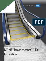 Kone Travelmaster 110 Escalator