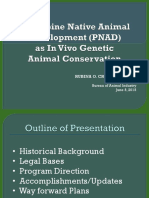 PNAD as in Vivo Genetic Animal Conservation123 groat
