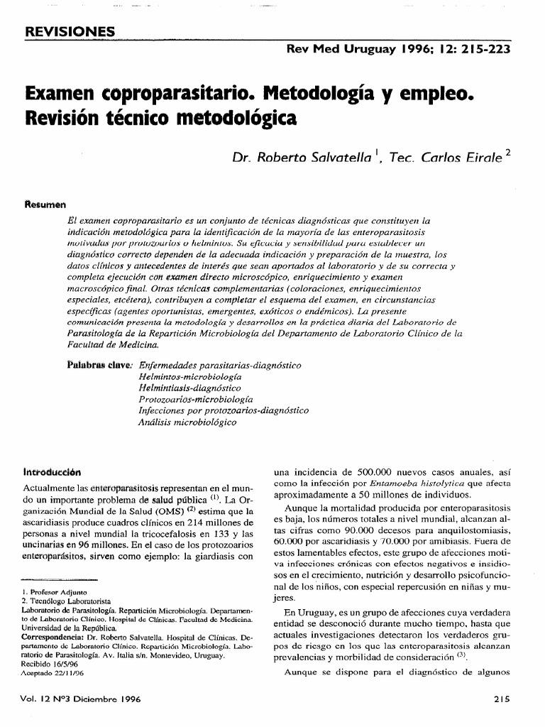 Studii terapeutice helmintice. Studii clinice