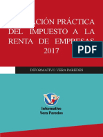Aplicación Práctica Del Impuesto a La Renta de Empresas 2017