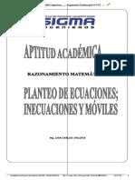 Seminario de Rm Moviles Planteo Ecuac Inecu