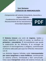1 Generalidades de La Inmunología