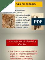 Sociología Del Trabajo Grupo Efp n 9 Ponencia Ppt