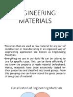 Engineering Materials