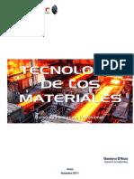 Tecnología de Los Materiales (Curso Completo INDER) v. 01