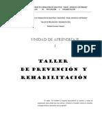Taller de Prevencion y Rehabilitacion
