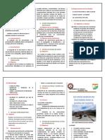 TRIPTICO ESTUDIOS BASICOS PARA DISEÑO DE PUENTES