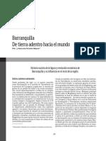 Barranquilla de Tierra Adentro Hacia El Mundo